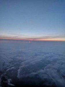 Небо Франції з віконця літака