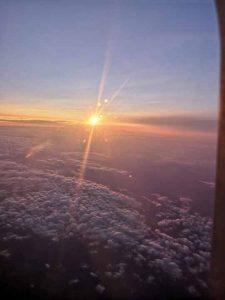 Захід сонця над Францією
